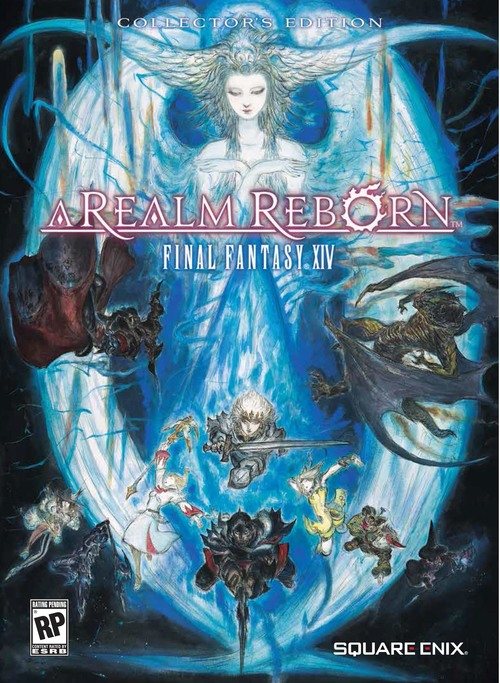 Cover for Final Fantasy XIV: A Realm Reborn.