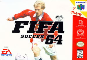 Cover for FIFA Soccer 64.