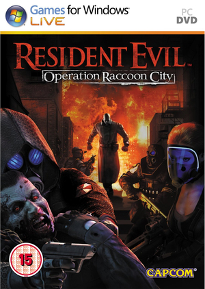 Cover for Resident Evil: Operation Raccoon City.