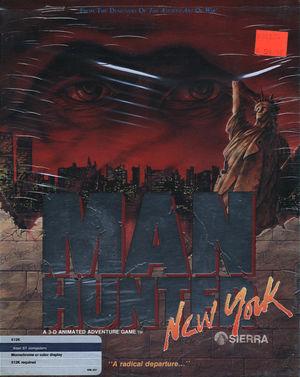 Cover for Manhunter: New York.