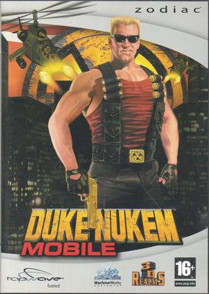Cover for Duke Nukem Mobile.