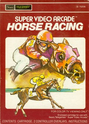 Cover for Horse Racing.