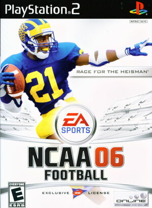 Cover for NCAA Football 06.