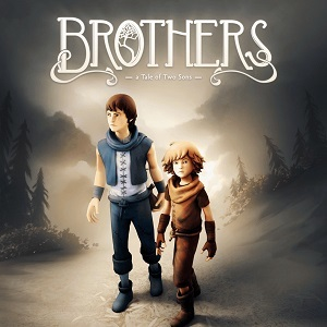 Cover for Brothers: A Tale of Two Sons.