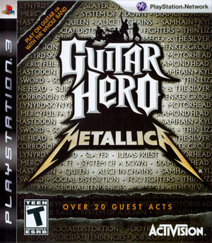 Cover for Guitar Hero: Metallica.