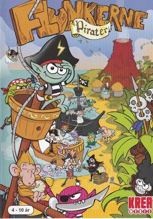 Cover for Flunkerne: Pirater.