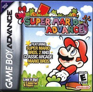Cover for Super Mario Advance.