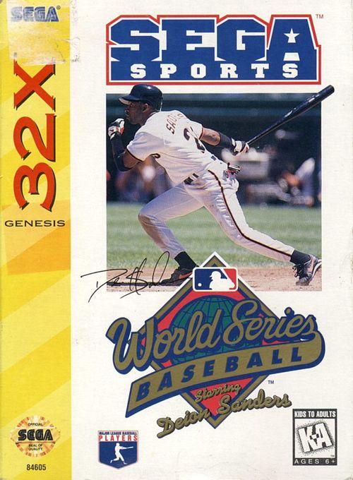 Cover for World Series Baseball Starring Deion Sanders.