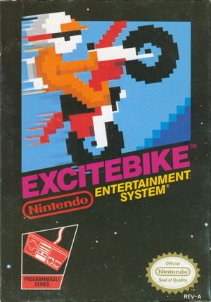 Cover for Excitebike.