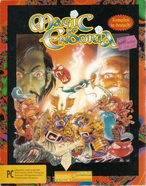 Cover for Magic of Endoria.