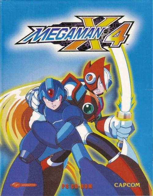 Cover for Mega Man X4.