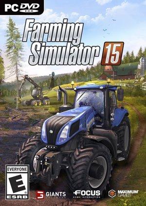 Cover for Farming Simulator 15.