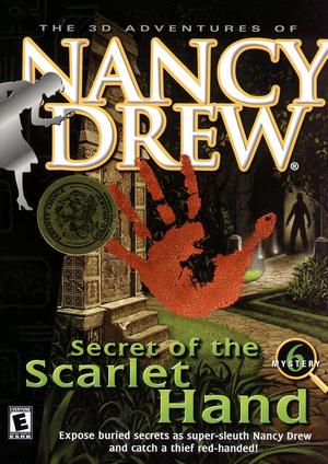 Cover for Nancy Drew: Secret of the Scarlet Hand.