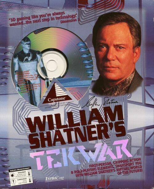 Cover for William Shatner's TekWar.