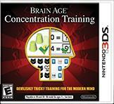 Cover for Brain Age: Concentration Training.