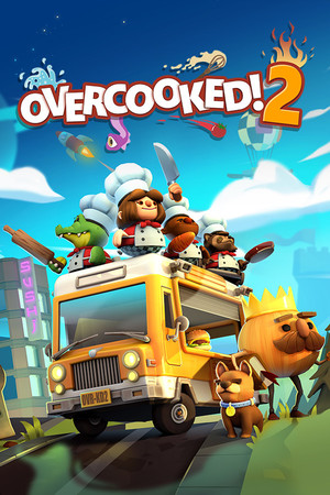 Cover for Overcooked 2.