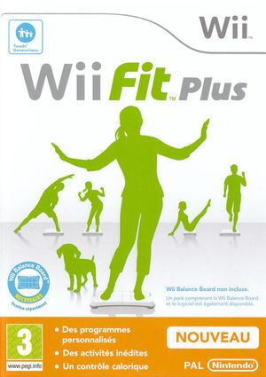 Cover for Wii Fit Plus.