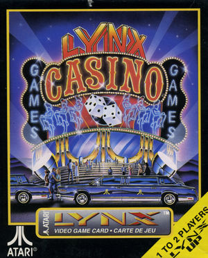 Cover for Lynx Casino.