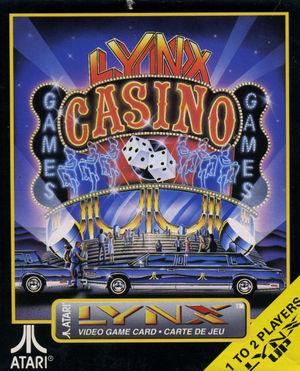 Cover for Lynx Casino.