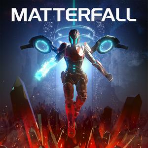 Cover for Matterfall.
