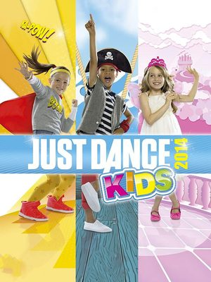 Cover for Just Dance Kids 2014.