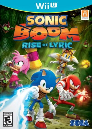 Cover for Sonic Boom: Rise of Lyric.