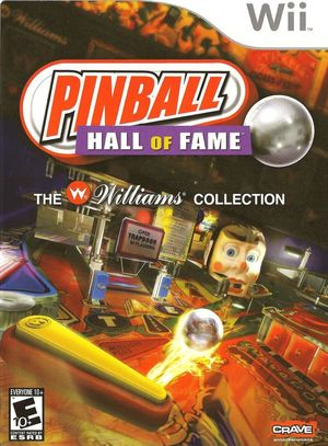 Cover for Pinball Hall of Fame: The Williams Collection.