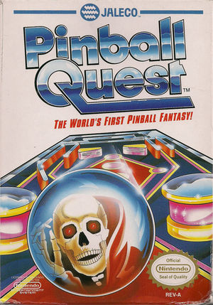 Cover for Pinball Quest.