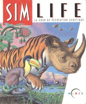 Cover for SimLife.