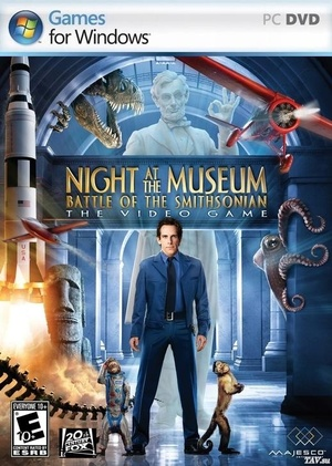 Cover for Night at the Museum: Battle of the Smithsonian.