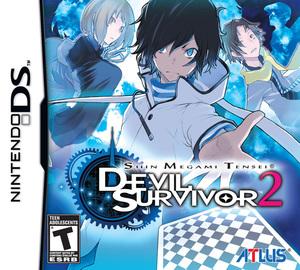 Cover for Shin Megami Tensei: Devil Survivor 2.