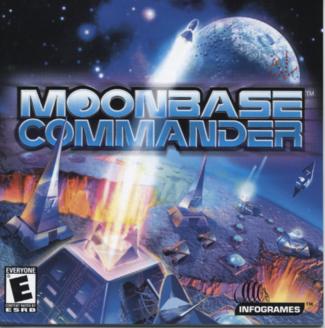 Cover for Moonbase Commander.