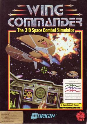 Cover for Wing Commander.