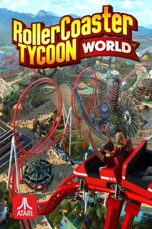 Cover for RollerCoaster Tycoon World.