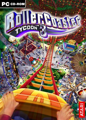Cover for RollerCoaster Tycoon 3.