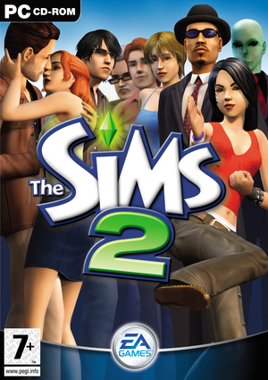 Cover for The Sims 2.