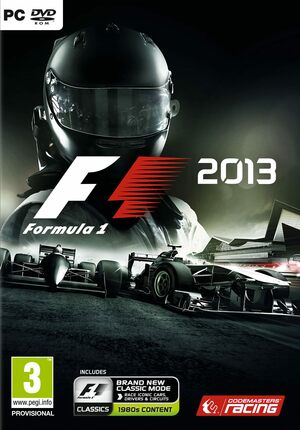 Cover for F1 2013.