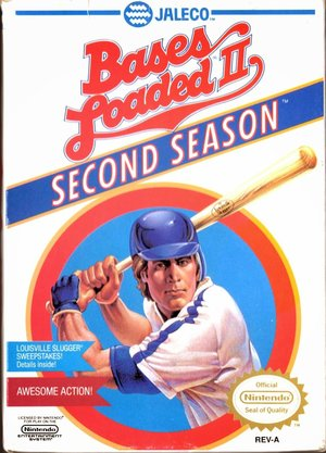 Cover for Bases Loaded II: Second Season.