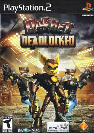 Cover for Ratchet: Deadlocked.