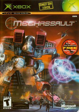 Cover for MechAssault.