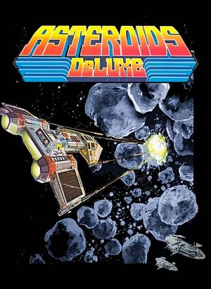 Cover for Asteroids Deluxe.