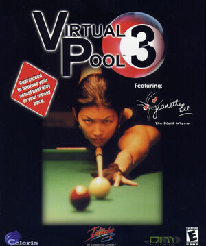 Cover for Virtual Pool 3.
