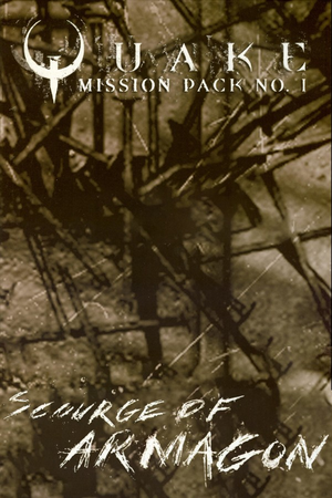 Cover for Quake Mission Pack 1: Scourge of Armagon.