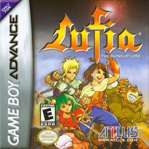 Cover for Lufia: The Ruins of Lore.
