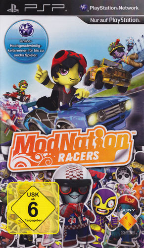 Cover for ModNation Racers.