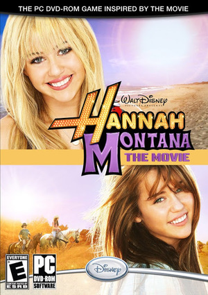 Cover for Hannah Montana: The Movie The Video Game.