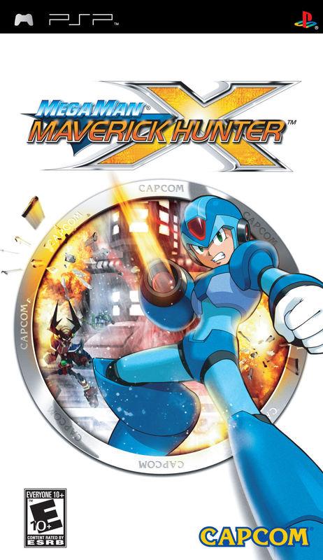 Cover for Mega Man Maverick Hunter X.