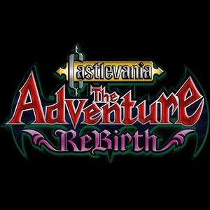 Cover for Castlevania: The Adventure ReBirth.
