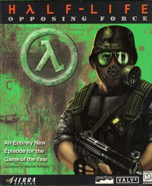 Cover for Half-Life: Opposing Force.