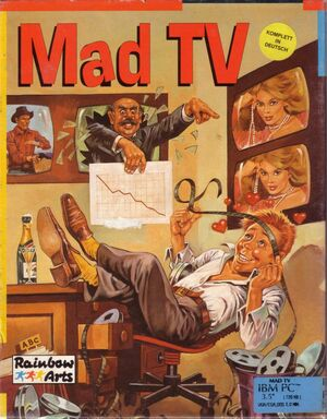 Cover for Mad TV.